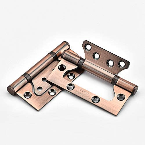 Black Stainless Steel 4 inch Door Real Bearing Popular popular Hinge OFFicial site Flush