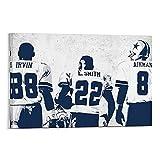 Dallas Cowboys Leinwand-Kunst-Poster und Wandkunstdruck,