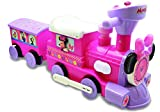 Product Image of the Kiddieland Minnie Ride-On Train with Caboose and Track