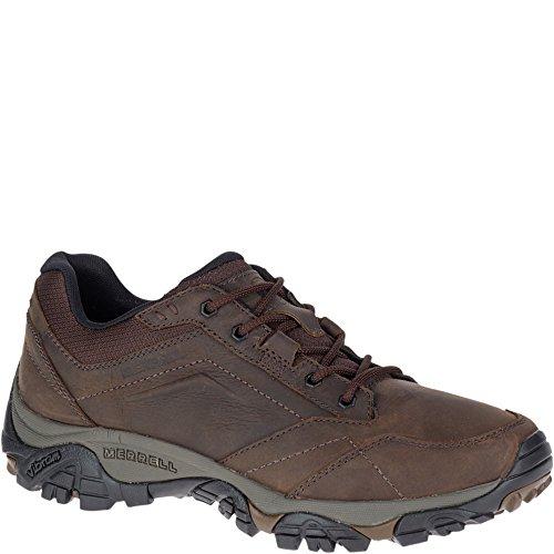 Merrell Moab Adventure Lace, Chaussures de Randonnée Basses Homme, Marron (Dark Earth), 42 EU