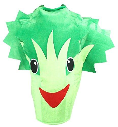 Petitebelle Frutas Hortalizas del traje del partido de Navidad de Halloween unisex adulta del desgaste Un tamao El apio brcoli