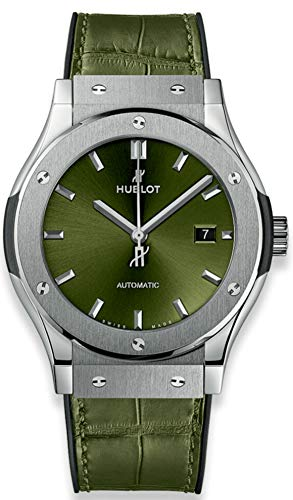 Hublot Classic Fusion Green Titanium 42mm 542.NX.8970.LR