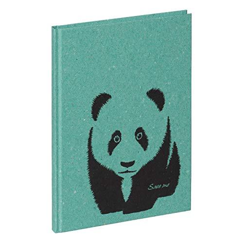 PAGNA 26050-17 Panda 128S - Cuaderno (A5, con líneas punteadas)