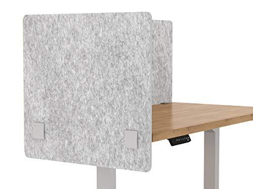 VaRoom Akustik-Trennwand, Schalldämpfende Schreibtisch-Trennwand - Sichtschutz Schreibtisch montiert Kabine Panel, mehrere Größen und Farben erhältlich 24