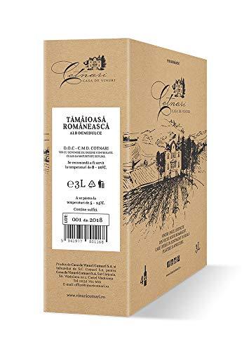 Cotnari | Tamaioasa Romaneasca – rumänischer Weißwein lieblich 3 L Bag-in-Box DOC-CMD