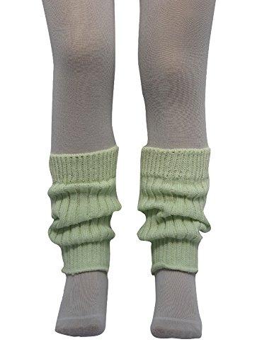 socken-und-mehr Kleinkinder Stulpen 20 cm lang in kristall (mintgrün)