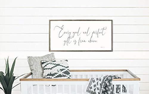 Prz0vprz0v Panneau en bois encadré avec inscription « I Love You More », contreplaqué, Rustic-12., 12\