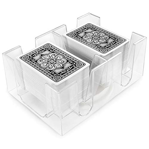 Brybelly 6 Deck Rotating-Revolving Card Tray