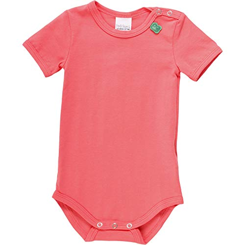 Fred'S World By Green Cotton Alfa S/s Body, Orange (Coral 016164001), 58 (Taille Fabricant: 56) Bébé Fille