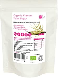 PINK SUN Azúcar de Coco Orgánico 1kg Bio sin Refinar - Organic Coconut Palm Sugar 1000g