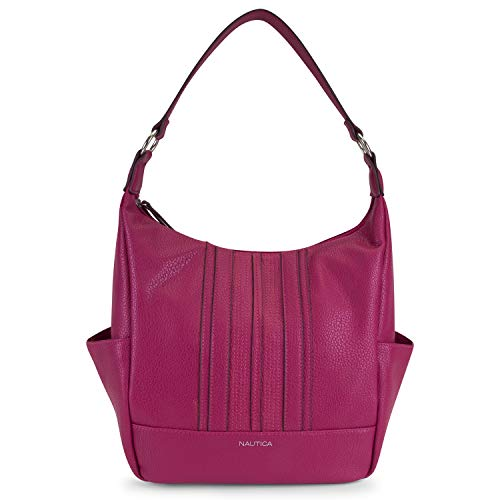 With a great feel and classic look that matches the Nautica brand, our tote is the perfect bag for any occasion and with its PU material it makes cleaning super easy PERFECT SIZE – Not to big and not to small this tote can carry all your essential it...