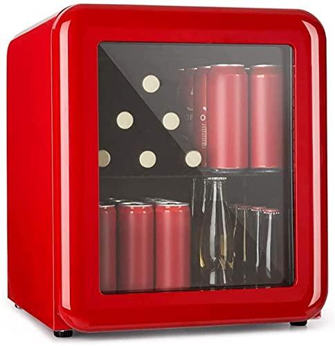 Enfriador de Bebidas - Mini refrigerador de cosméticos Retro Bar, refrigerador Retro, 0-10 ° C, Solo 39 Db, diseño Retro, Usado en cosméticos y skincar