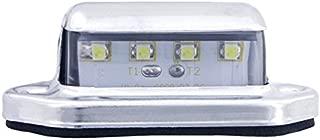 Kaper II L10-0001 White LED License Plate Light