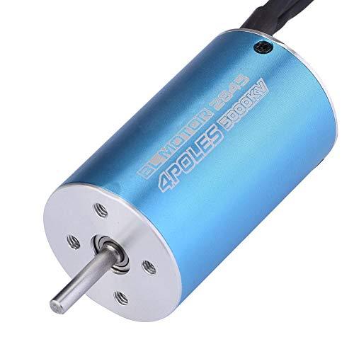 Dilwe 4 Pole 12 Slot Wasserdicht 2845 5000KV / 5900KV Brushless RC Motor für 1/12 1/14 Skala RC Auto(5000 KV)