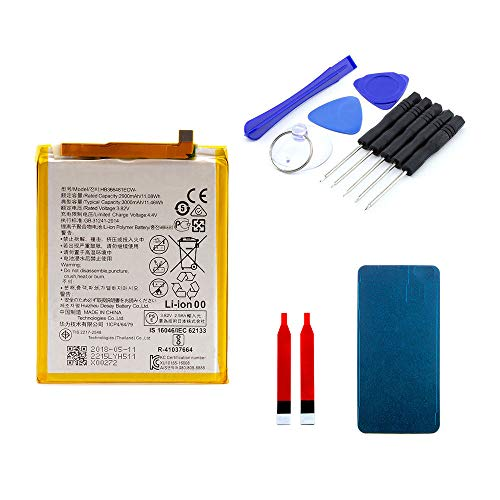 Akku kompatibel mit Huawei P10 lite inkl. Werkzeugset | 2900 mAh | DIY Reparaturset