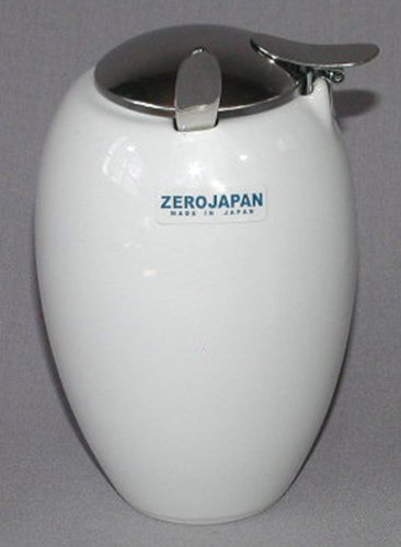 ZEROJAPAN Oval sugar spoon with white BBN-22 WH (japan import)