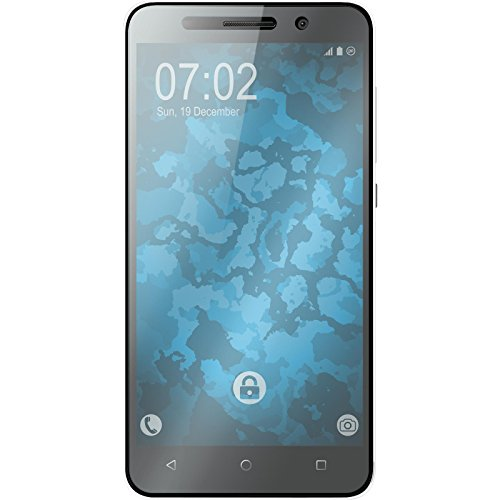 PhoneNatic 2 x Glas-Folie klar kompatibel mit Huawei Honor 4X - Panzerglas für Honor 4X - 2