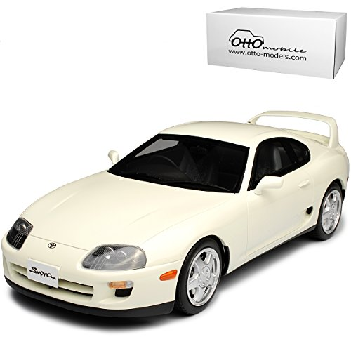 Toyota Supra MKIV Coupe Weiss 4. Generation 1993-2002 Nr 236 1/18 Otto Modell Auto