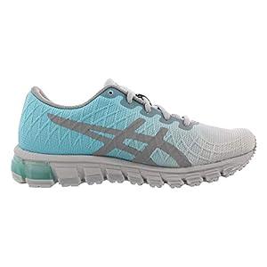 ASICS Women's Gel-Quantum 180 4 Running Shoes, 8M, ICE Mint/Stone Grey