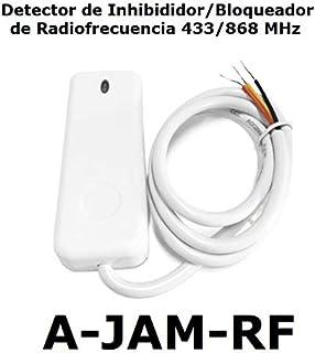 Detector de inhibidores de radiofrecuencia 433/868 MHz Sensor de detección de interferencia o Bloqueo de señal Detector Anti-inhibición