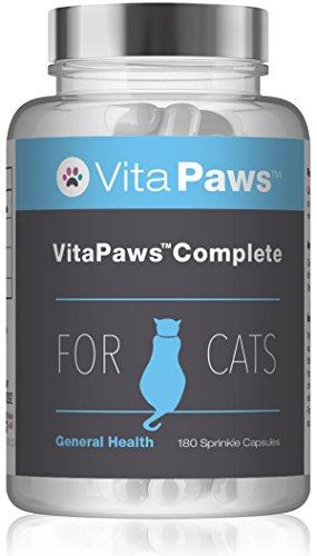 VitaPaws Formula completa per gatti - 180 Capsule facili da aggiungere al cibo - SimplySupplements