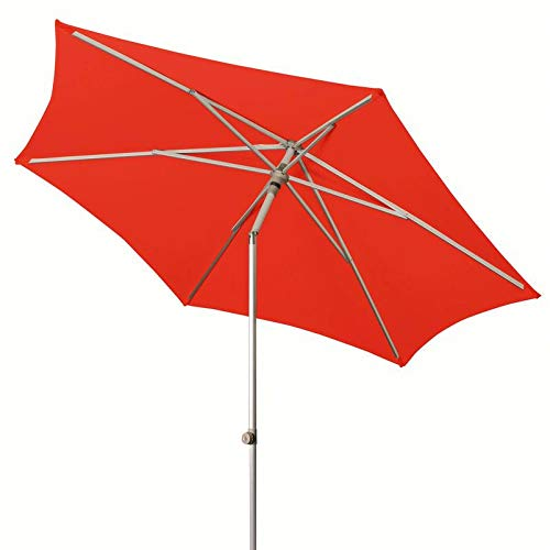 Doppler ACT Push Up Parasol, Ø ca. 310 cm, rood