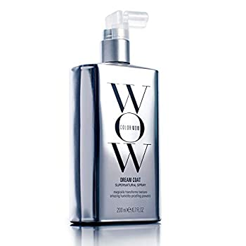 Color Wow Dream Coat Supernatural Spray – Multi-award-winning anti-frizz spray keeps hair frizz-free for days no matter the weather with moisture-repellant anti-humidity technology  glass hair results