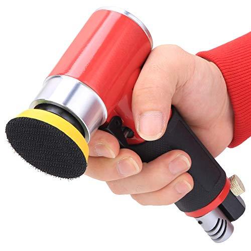 Pulidora Neumática, Pulidora Neumática Operación Simple Cómodo Para Sostener Amoladora Angular Para Pulido Fino Para Pulir(Excéntrico)