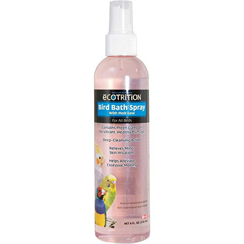 eCOTRITION Ultra Care Bird Bath Spray, 8 FZ