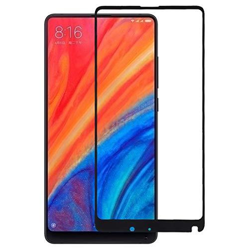 Pellicola in vetro temperato per telefono cellular 0.33mm 9H 2.5D Full Screen Pellicola completamente adesiva in vetro temperato for Xiaomi Mi Mix 2S (nero) Film di vetro temperato ( Colore : Black )
