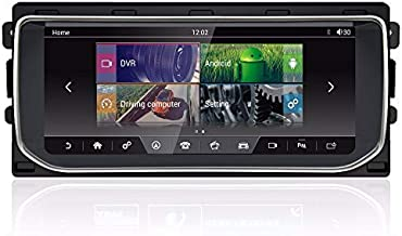 CARSOLL Compatible with Land Rover Range Rover Evoque Vogue HSE Autobiography Sport 10.25″ Android Screen Radio GPS Navigation Monitor Display CarPlay 4GB RAM 64GB ROM 8-core
