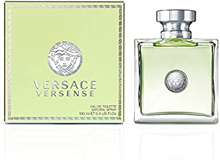Perfume para Lady Girl para mujer Versace versense 100ml EDT 34Oz 100ml Eau de Toilette Spray Original
