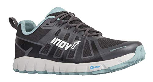 Inov-8 Damen Terraultra 260 | minimalistischer Trail-Laufschuh | Zero Drop | perfekt für Langstrecken-Laufschuhe, Grau (Grau/Blau Grau), 6 Women/4.5 Men