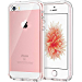 JETech Case for Apple iPhone SE 5S 5, Shock-Absorption Bumper Cover, Anti-Scratch Clear Back, Crystal Clear (Renewed)