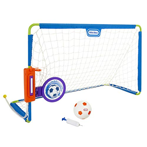 Little Tikes 2-in-1 Water Soccer / Football Sports Game with Net, Ball & Pump