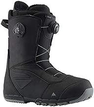 Burton Men's Ruler Boa Snowboard Boots, Black, 8.0