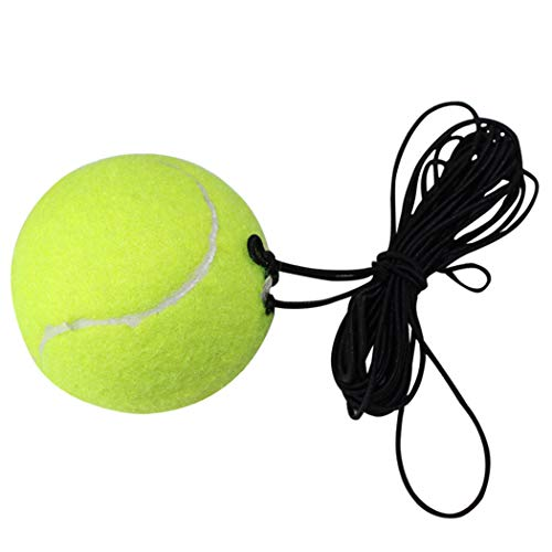 Outgeek Tennis Training Ball Practice Exercise Tennis Ball Rebound Ball with String for Tennis Trainer