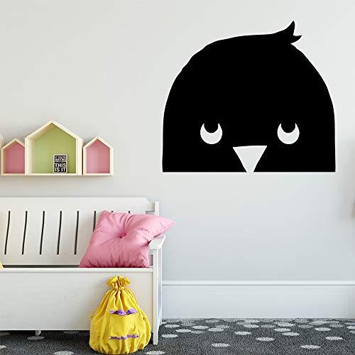 Tianpengyuanshuai muursticker van vinyl, afneembaar, personaliseerbaar voor vogels, cadeau voor jongens en meisjes voor de decoratie van de slaapkamer