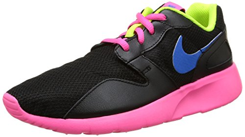 Nike Kaishi (GS), Scarpe da Corsa Ragazza, Black/Photo Blue-Pink Pow-Volt, 38.5 EU