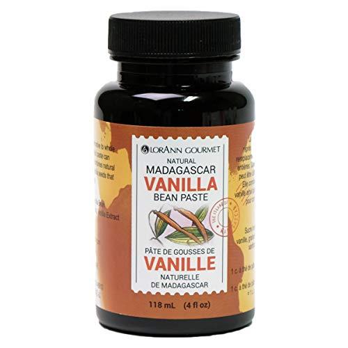 LorAnn Madagascar Vanilla Bean Paste, 4 ounce