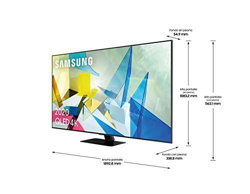 Samsung QLED 2020 85Q80T – Smart TV de 85″