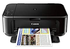 Mobile device printing: Easily print from your iPhone, iPad, Android or tablet Quick and easy wireless setup Powerful printing options: Airprint, Google Cloud Print, NFC, Mopria and Canon Print Compact and space-saving design Print on both sides of t...
