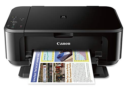 powerful Canon Pixma MG3620 All-in-one Wireless Color Inkjet Printer with Mobile and Flatbed Printing – Black