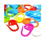 100PC Mix Color Knitting Stitch Counter Crochet Locking Stitch Markers Stitch Needle Clip Knitting Crochet Markers(Color Ship Randomly)