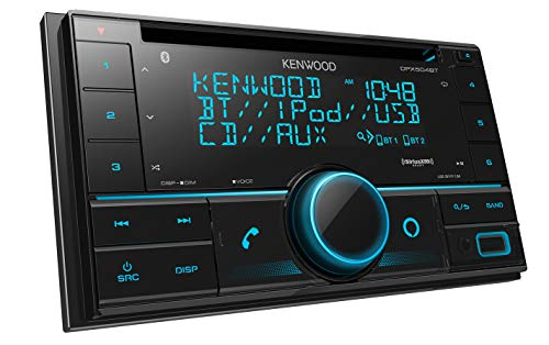 Kenwood DPX504BT Double DIN in-Dash CD Receiver with Bluetooth | Car Stereo CD Receiver with Amazon Alexa Voice Control |...