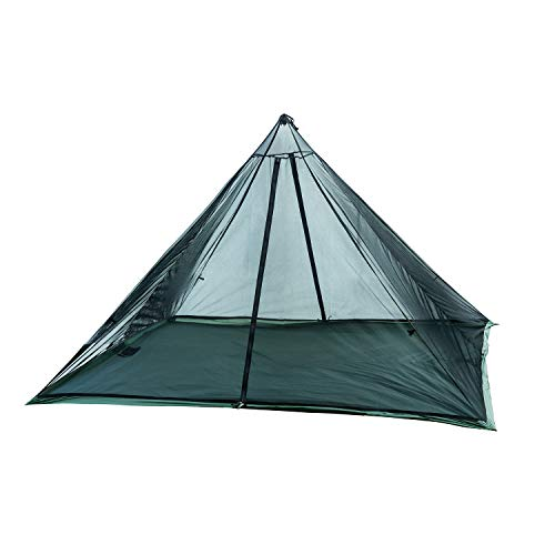 OneTigris Mesh Teepee for Wild Haven Hot Tent, Ultralight, 2 Persons