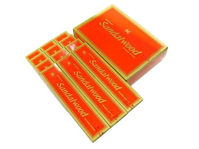 呪い第九ブルゴーニュSHALIMAR(シャリマー) SANDALWOOD サンダルウッド香(レギュラーボックス) スティック 12箱セット