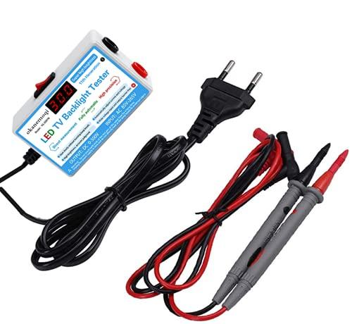 Lámpara LED Probador de retroiluminación de TV Tiras de LED multiusos Herramienta de prueba de cuentas Instrumentos de medición para luz LED Salida 0-300 V, Sin Desmontar la Pantalla LCD