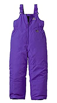 ZeroXposur Girls Snow Pants Skiing and Snowboarding Water Resistant Girls Lacey Snow Bibs Overall  Iris 6X Long