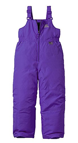 ZeroXposur Girls Snow Pants, Skiing and Snowboarding Water Resistant Girls Lacey Snow Bibs Overall (Iris, 6X Long)